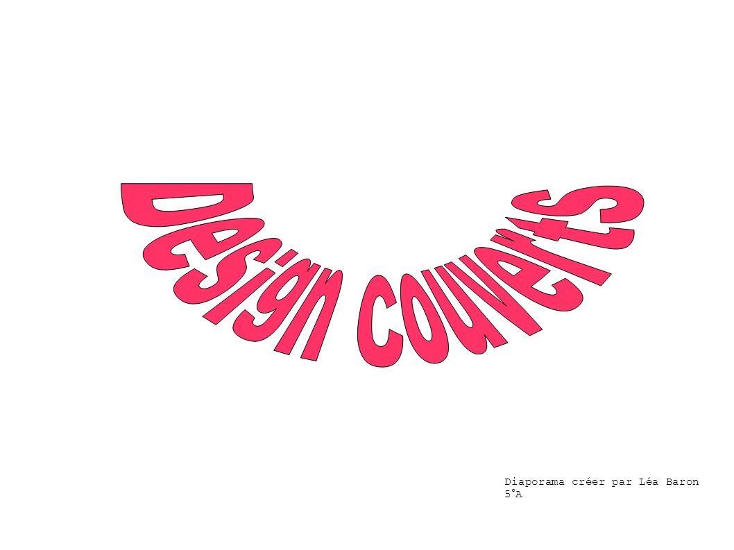 Design Couverts Diaporama créer par Léa Baron 5°A