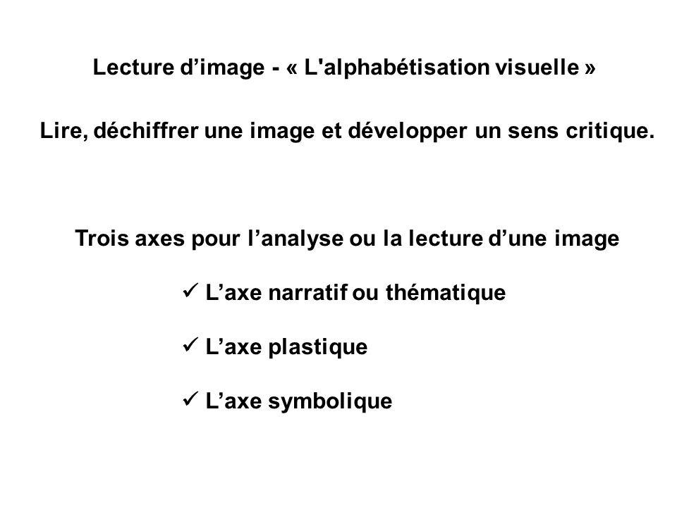 Lecture d'image - « L alphabétisation visuelle »