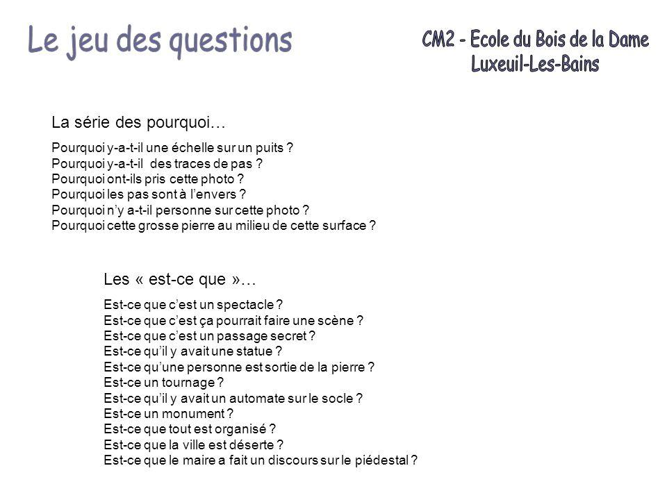 CM2 - Ecole du Bois de la Dame
