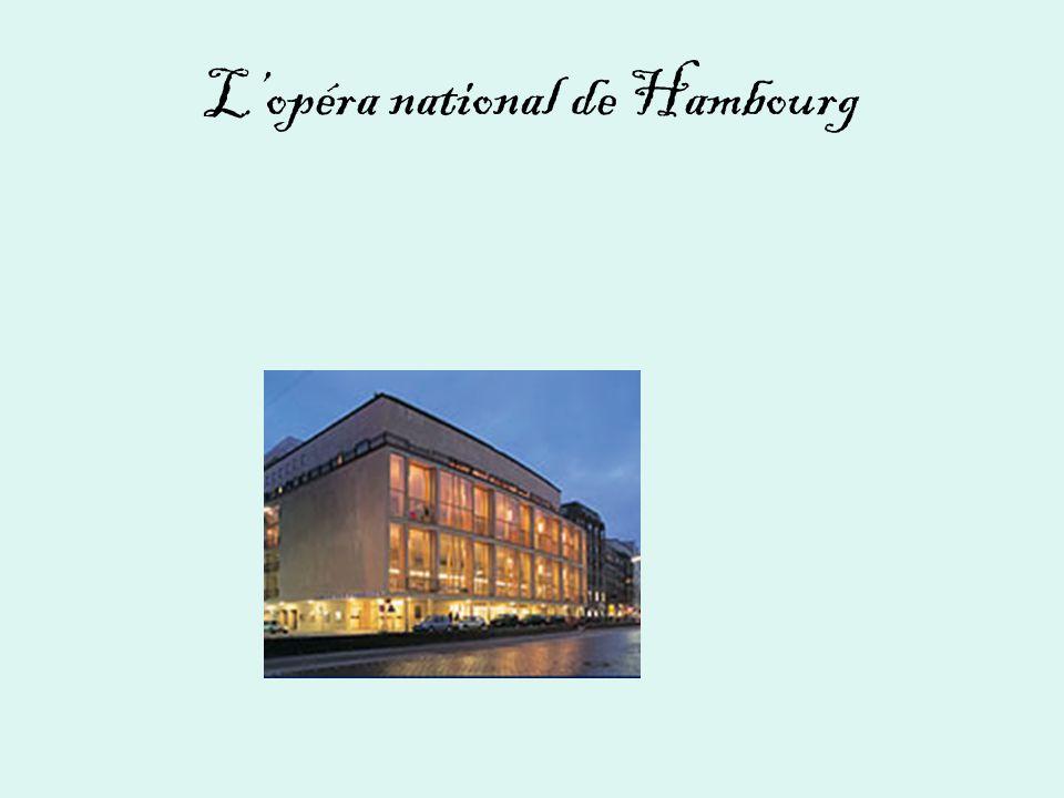 L'opéra national de Hambourg