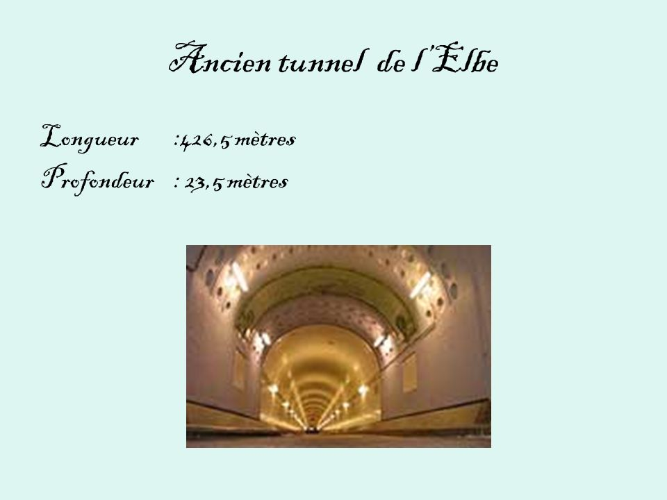 Ancien tunnel de l'Elbe