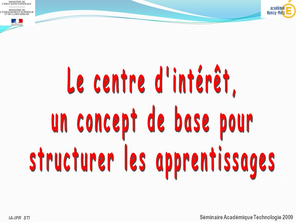 structurer les apprentissages