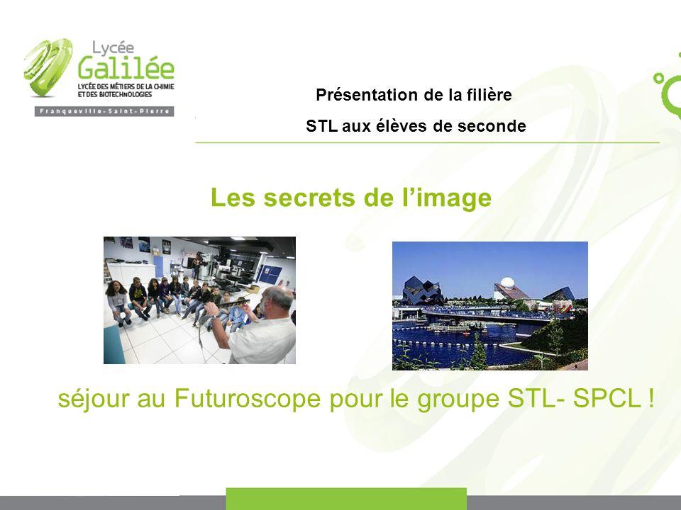 séjour au Futuroscope pour le groupe STL- SPCL !
