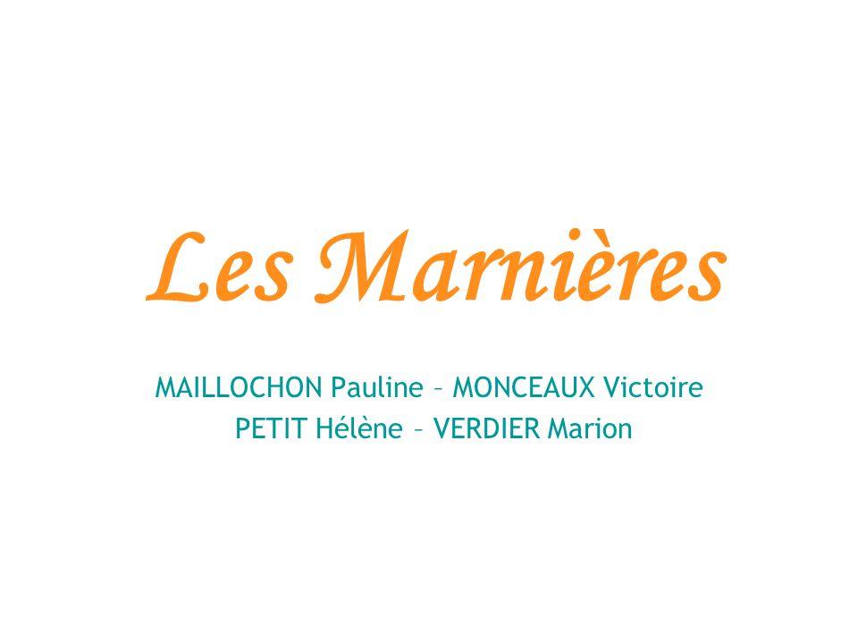 MAILLOCHON Pauline – MONCEAUX Victoire PETIT Hélène – VERDIER Marion