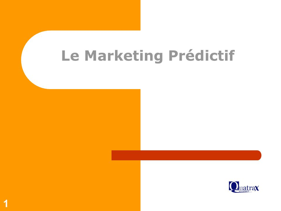 Le Marketing Prédictif
