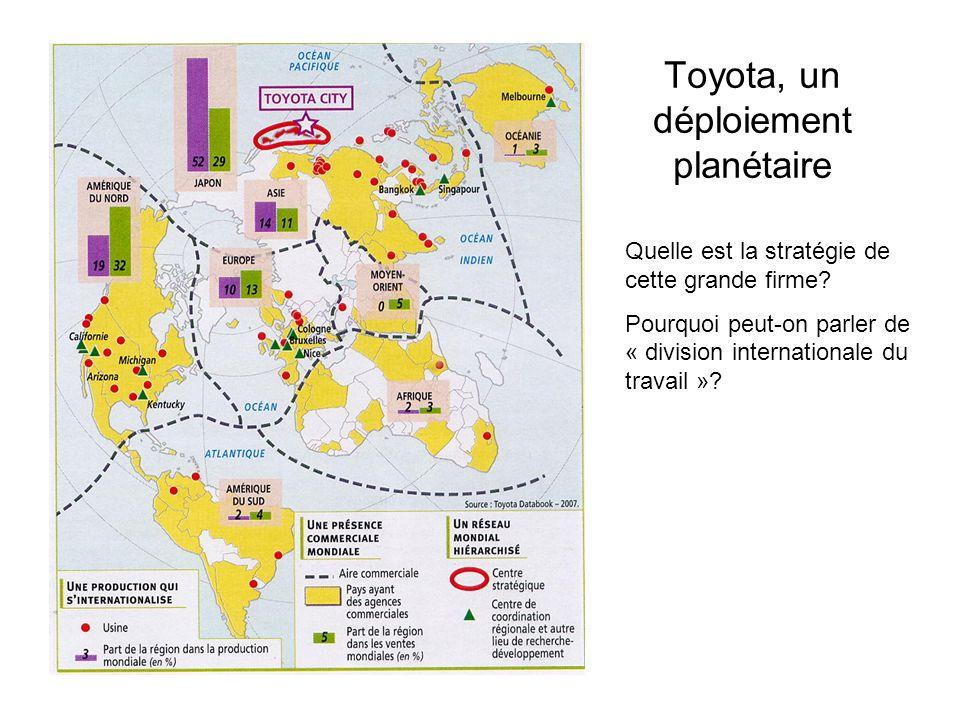Toyota, un déploiement planétaire
