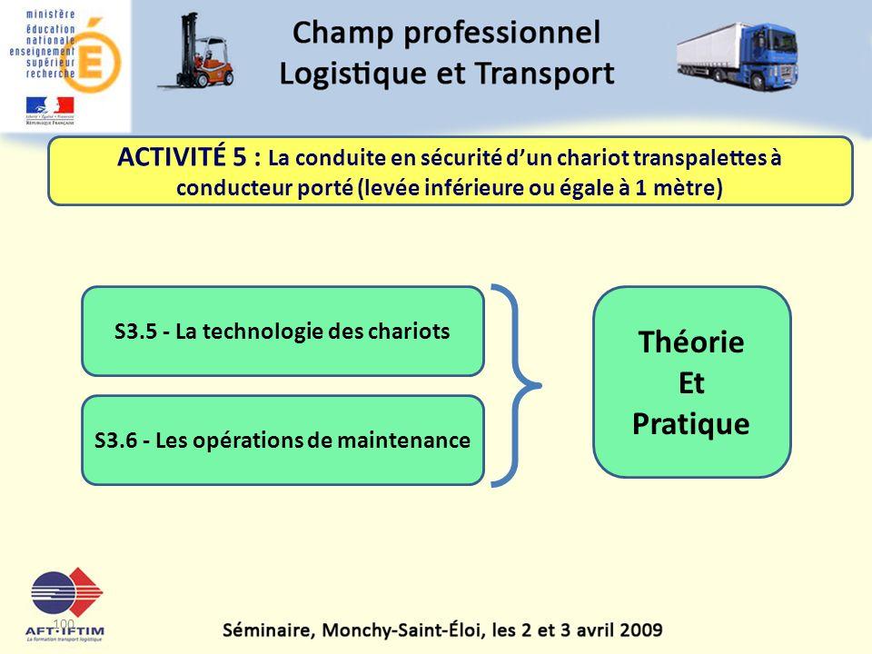 S3.5 - La technologie des chariots