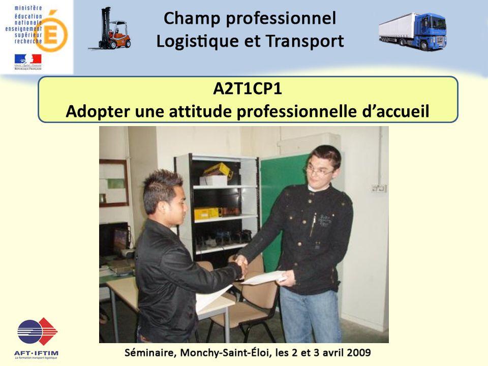 Adopter une attitude professionnelle d'accueil