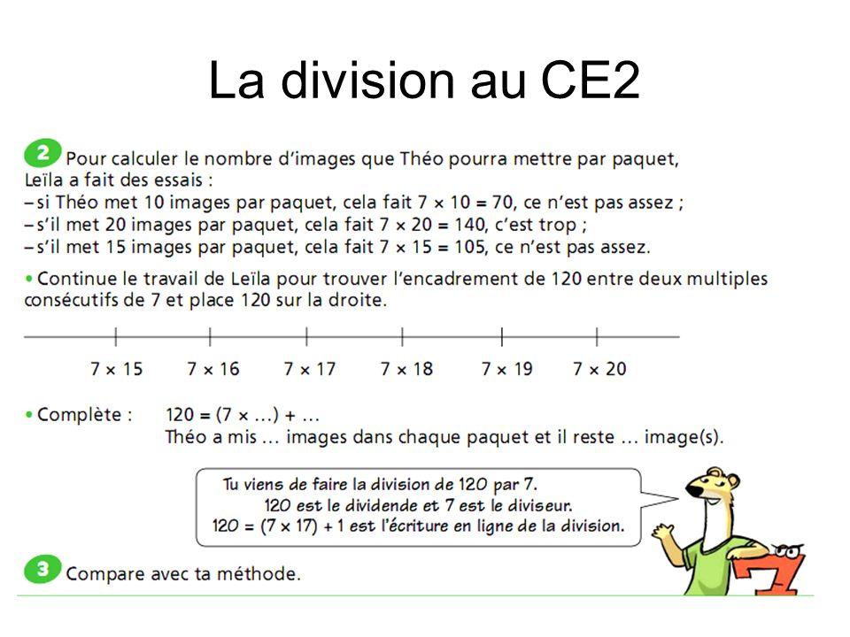 La division au CE2