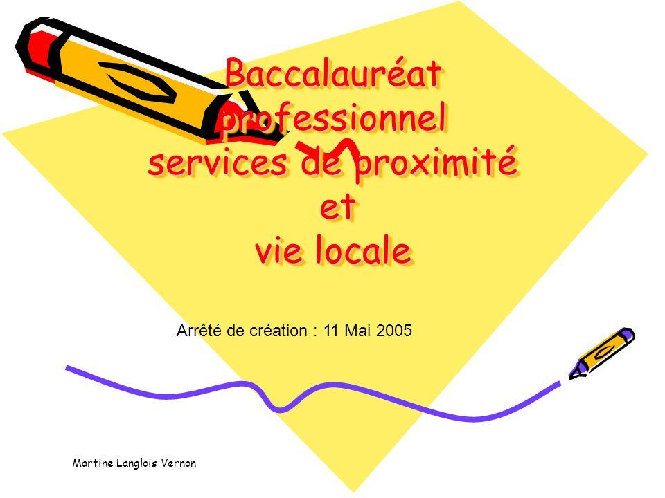 Baccalauréat professionnel services de proximité et vie locale