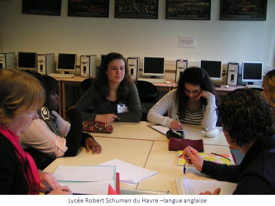 Lycée Robert Schuman du Havre –langue anglaise