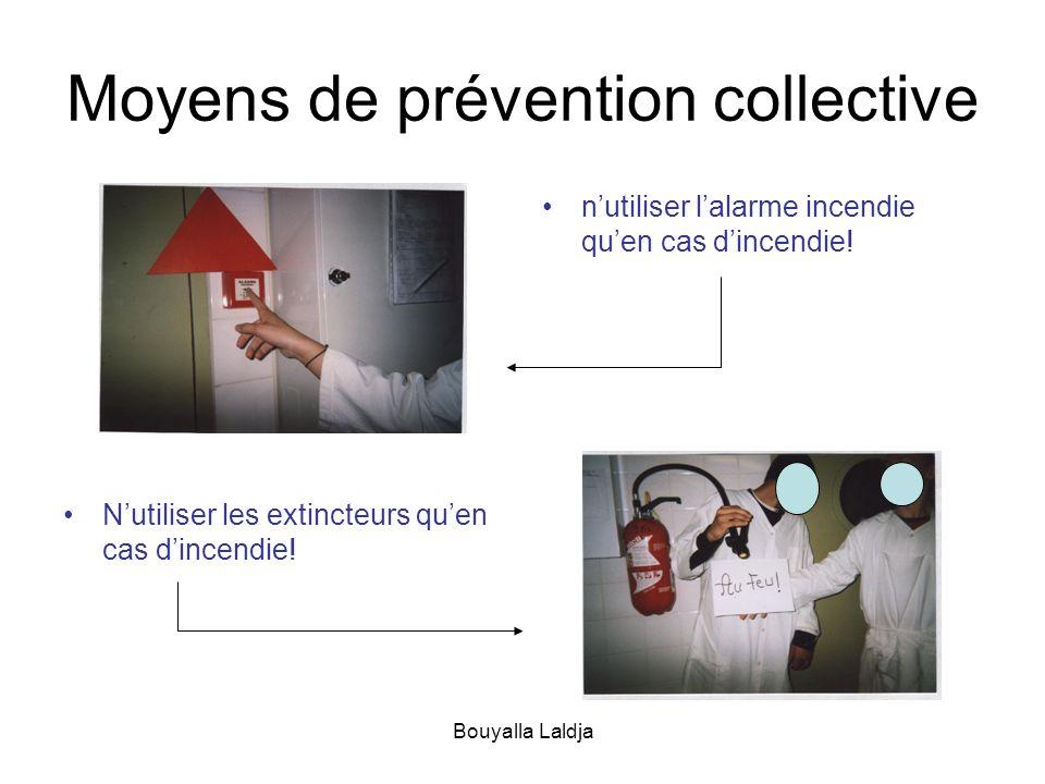 Moyens de prévention collective