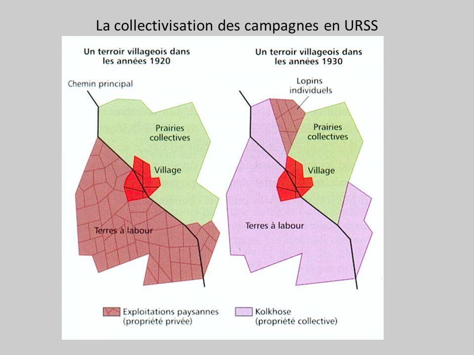 La collectivisation des campagnes en URSS