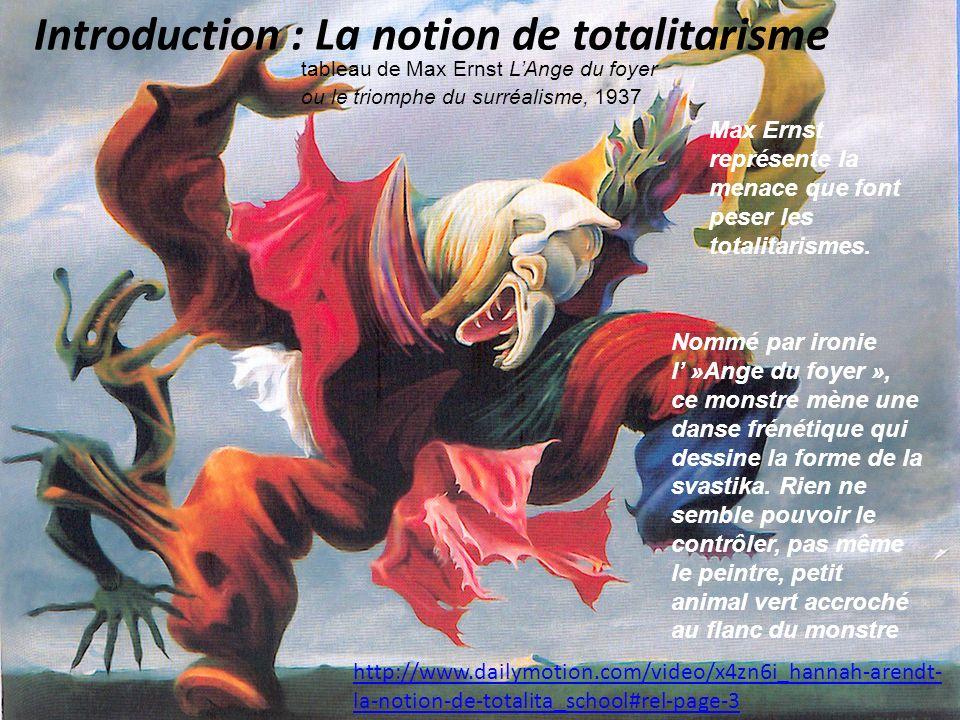 Introduction : La notion de totalitarisme