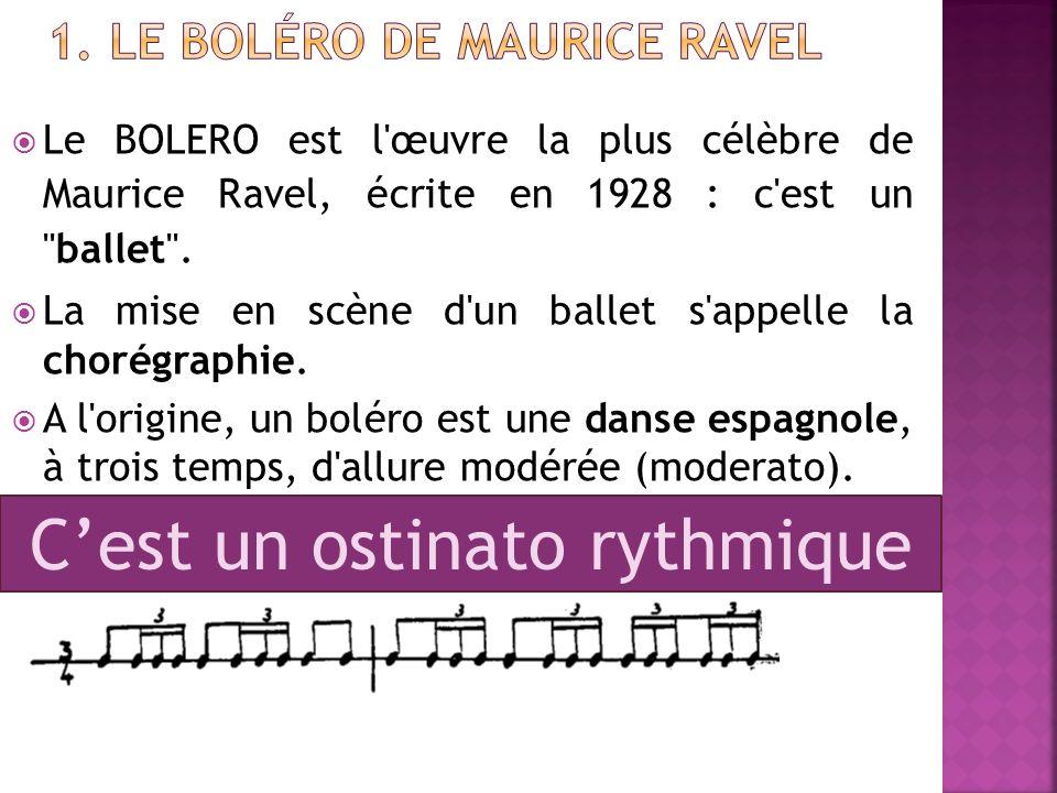 1. Le Boléro de Maurice Ravel
