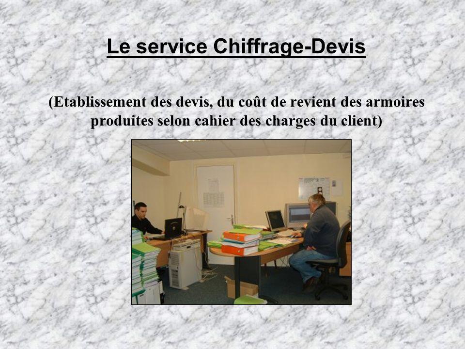 Le service Chiffrage-Devis