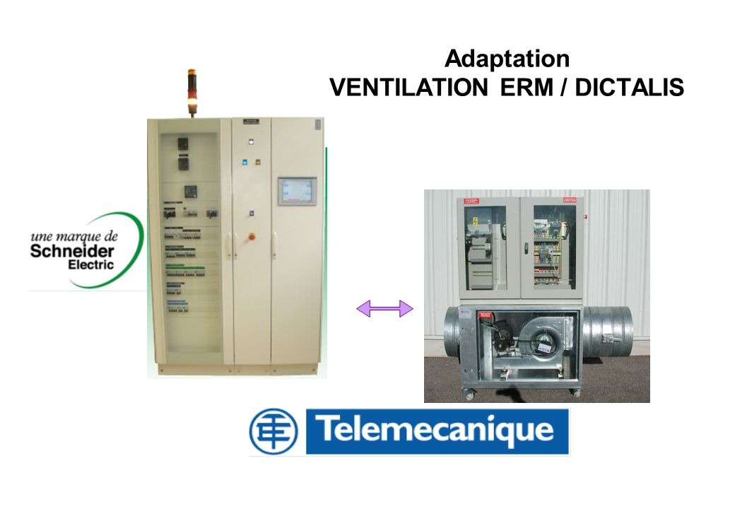 Adaptation VENTILATION ERM / DICTALIS