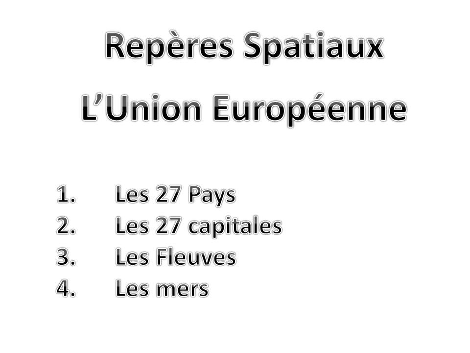 Repères Spatiaux L'Union Européenne