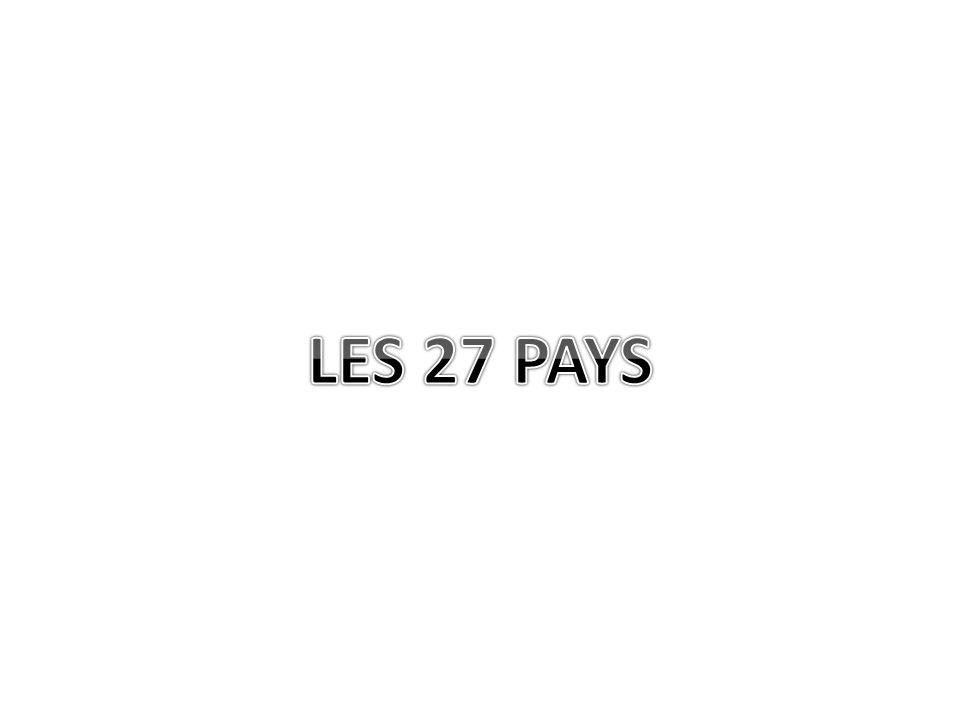 LES 27 PAYS