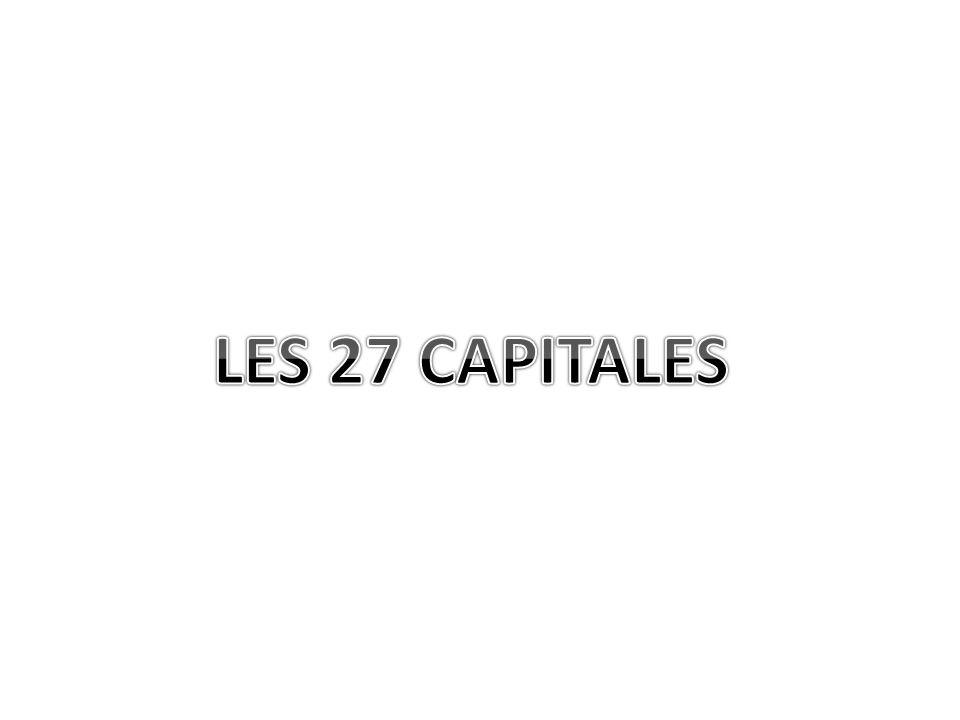 LES 27 CAPITALES