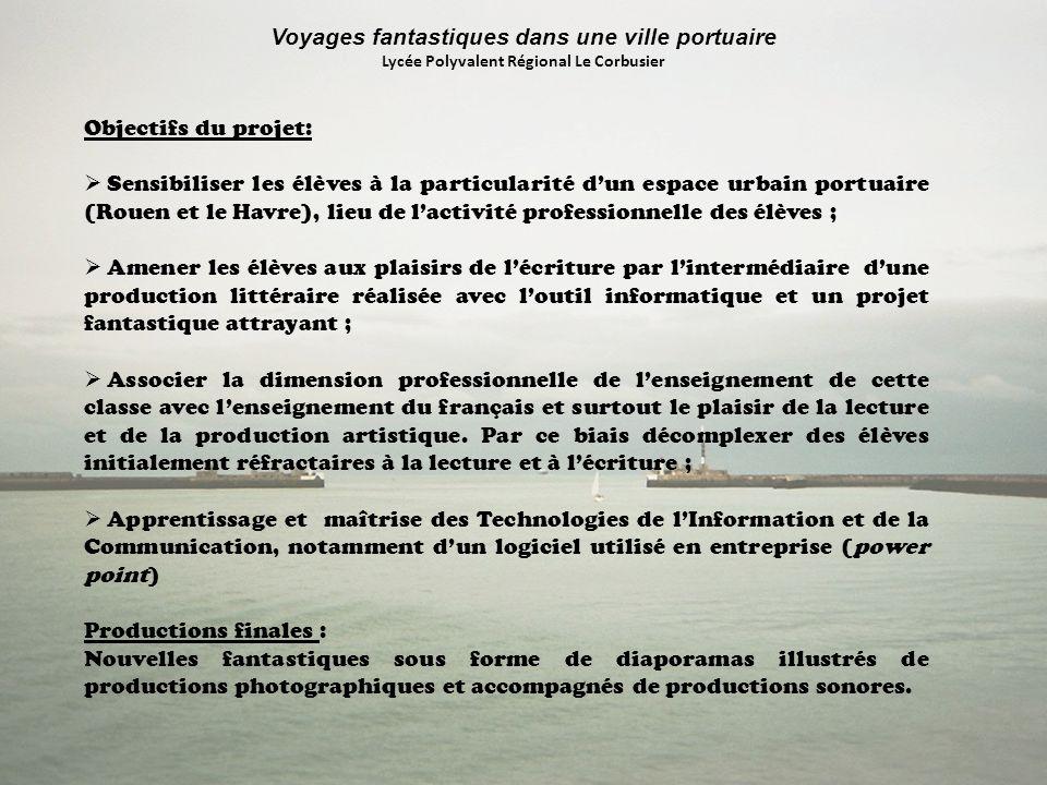 Objectifs du projet: