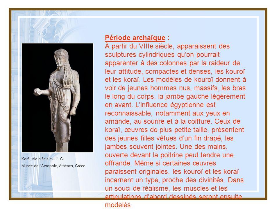 Période archaïque :
