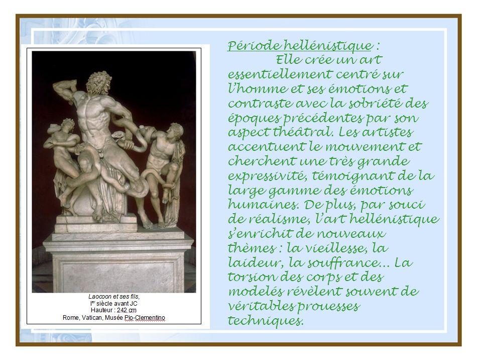 Période hellénistique :