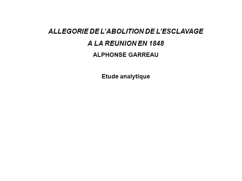 ALLEGORIE DE L'ABOLITION DE L'ESCLAVAGE