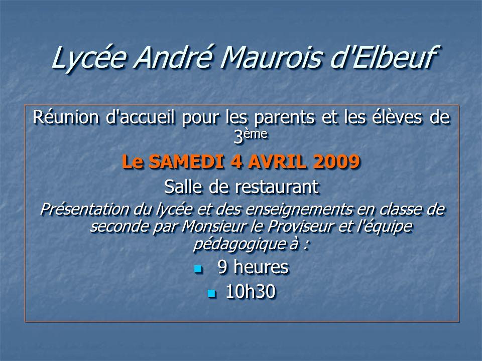 Lycée André Maurois d Elbeuf
