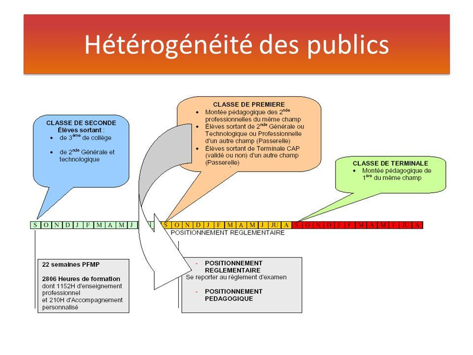 Hétérogénéité des publics
