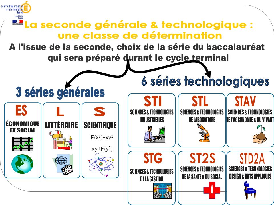 La seconde générale & technologique : une classe de détermination
