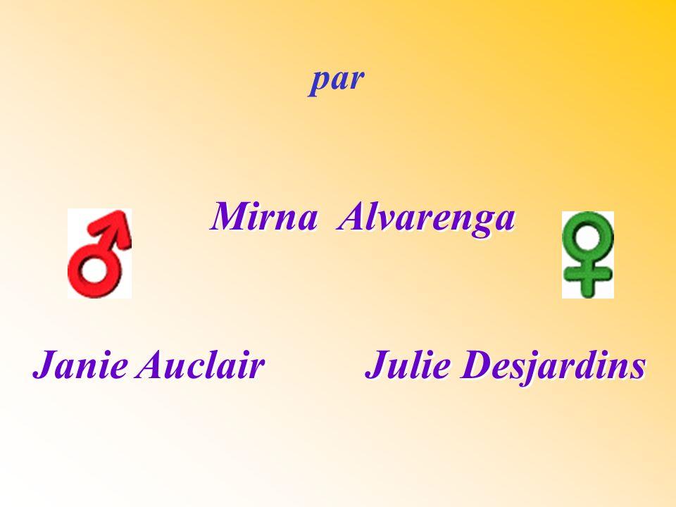 Janie Auclair Julie Desjardins