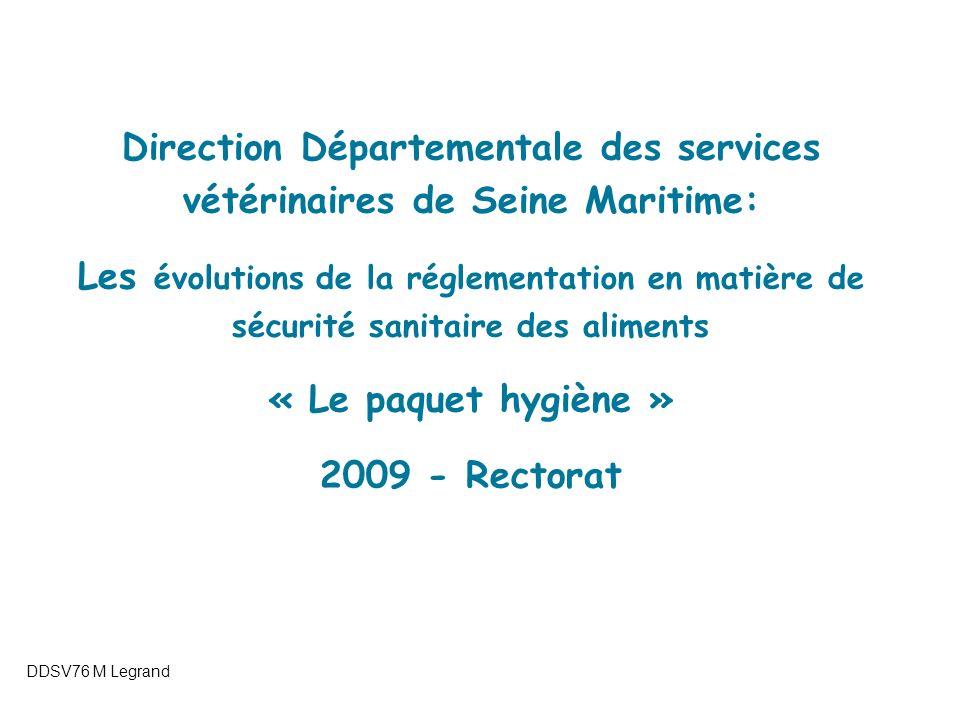 Direction Départementale des services vétérinaires de Seine Maritime:
