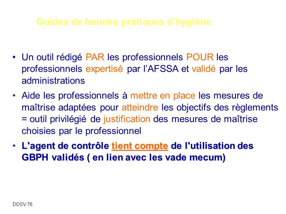 Règlement (CE) n°852/2004 rres : points forts Guides de bonnes pratiques d'hygiène