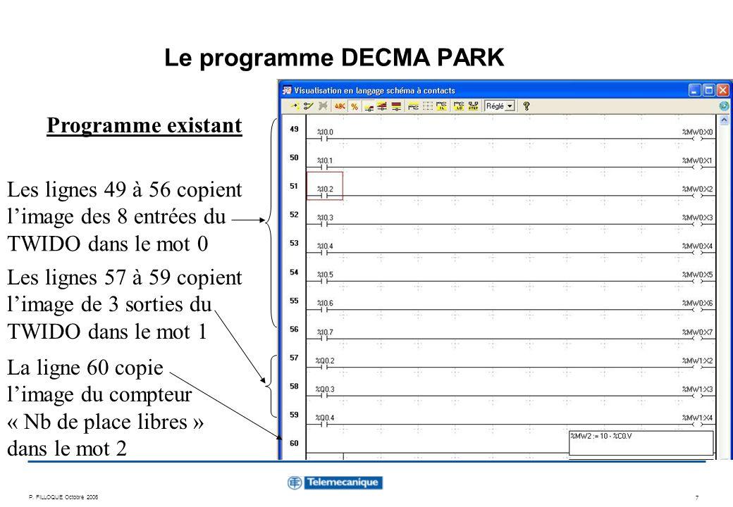 Le programme DECMA PARK