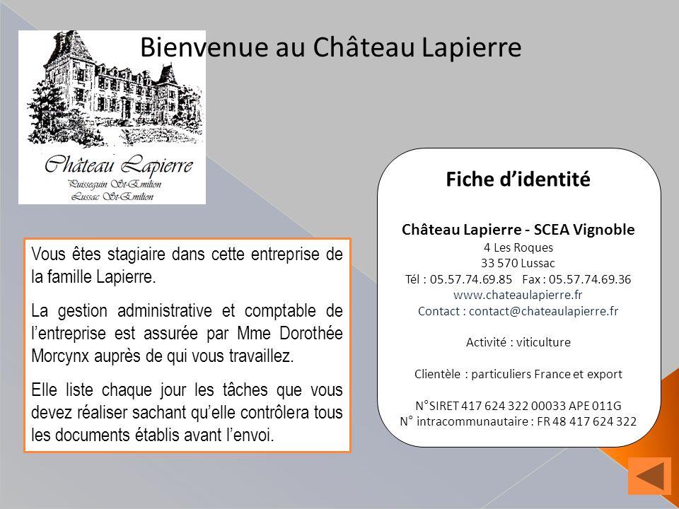 Château Lapierre - SCEA Vignoble
