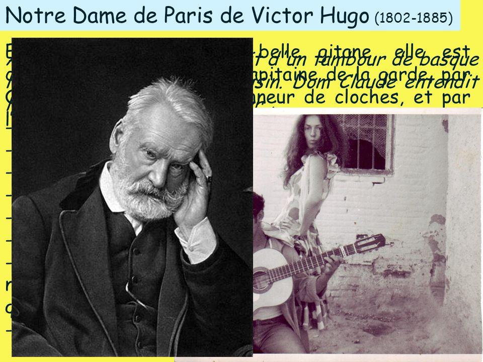Notre Dame de Paris de Victor Hugo (1802-1885)