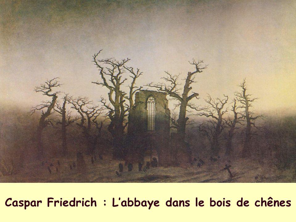 Caspar Friedrich : L'abbaye dans le bois de chênes