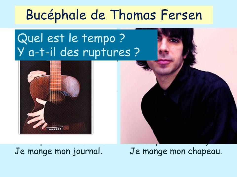 Bucéphale de Thomas Fersen