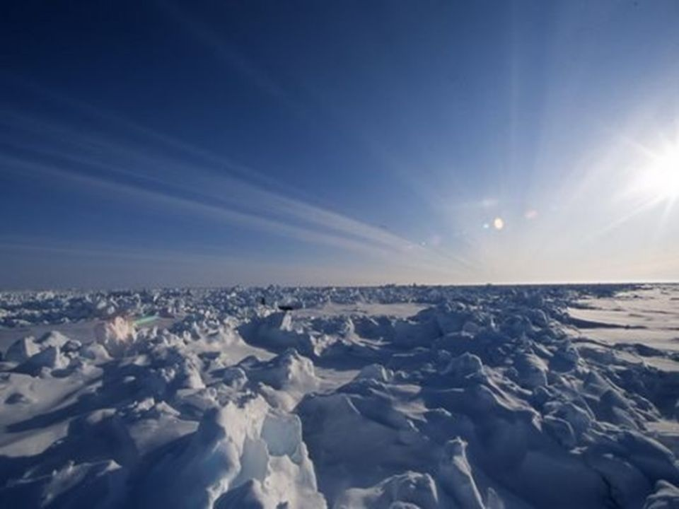Limites de la banquise d'hiver