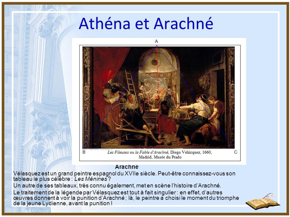 Athéna et Arachné Arachné