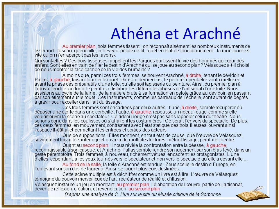 Athéna et Arachné