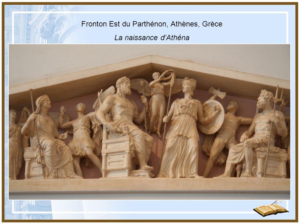 Fronton Est du Parthénon, Athènes, Grèce