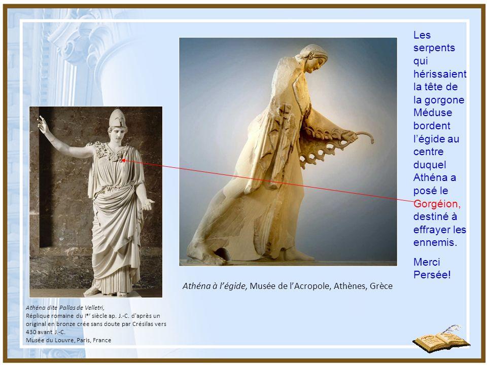 Athéna à l'égide, Musée de l'Acropole, Athènes, Grèce