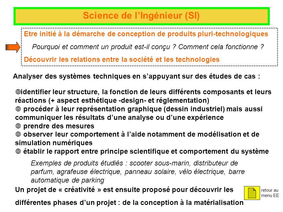 Science de l'Ingénieur (SI)