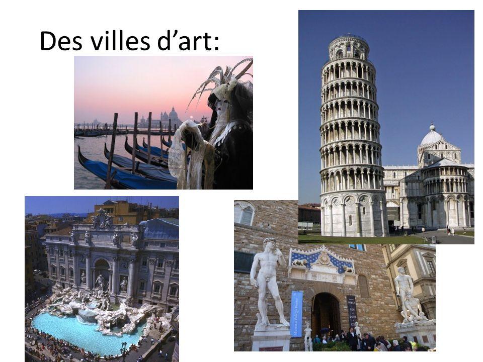 Des villes d'art: