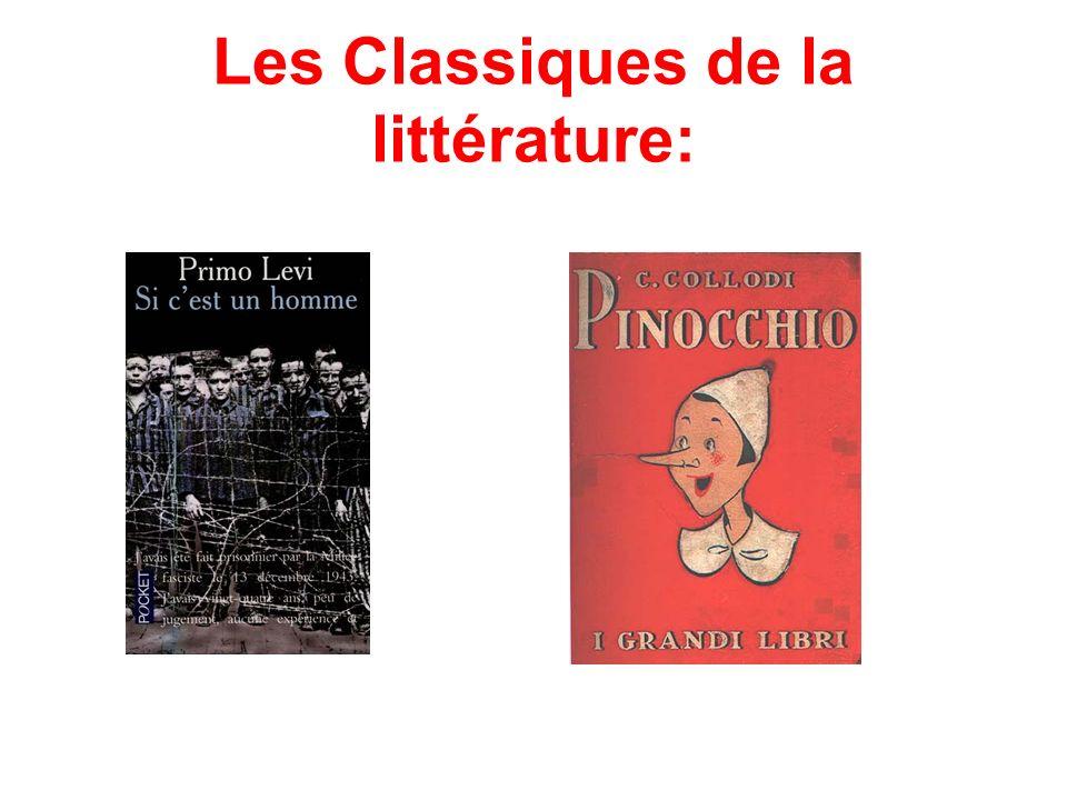Les Classiques de la littérature: