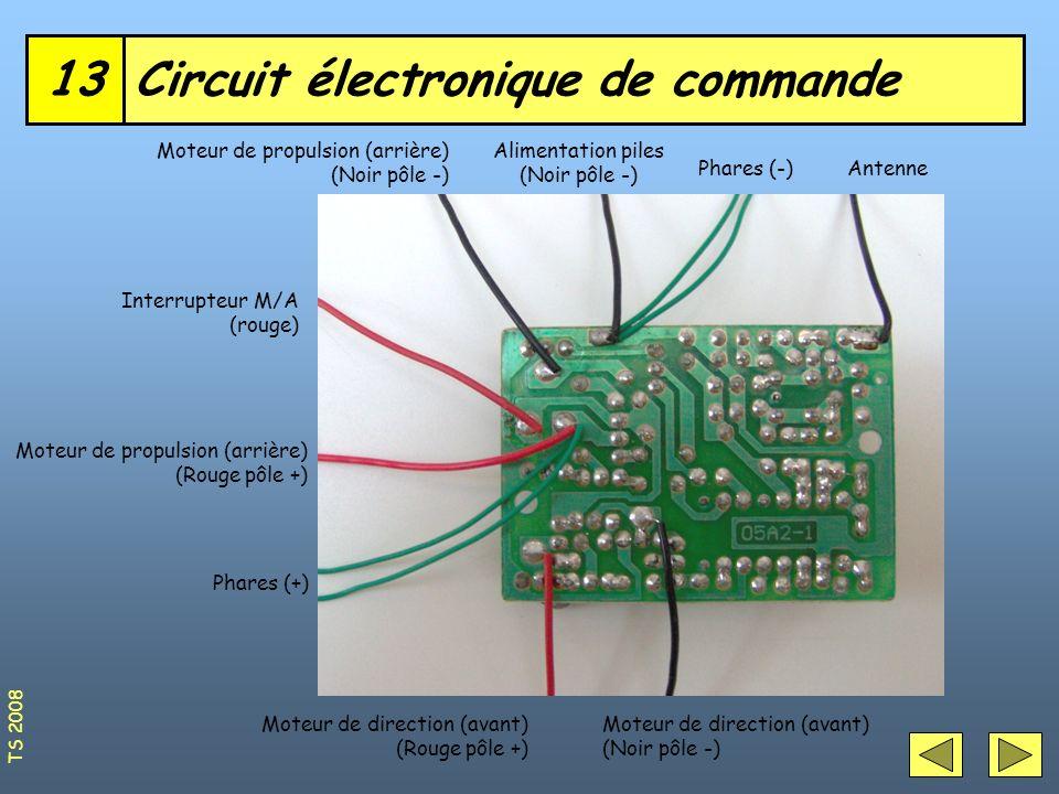 Circuit électronique de commande