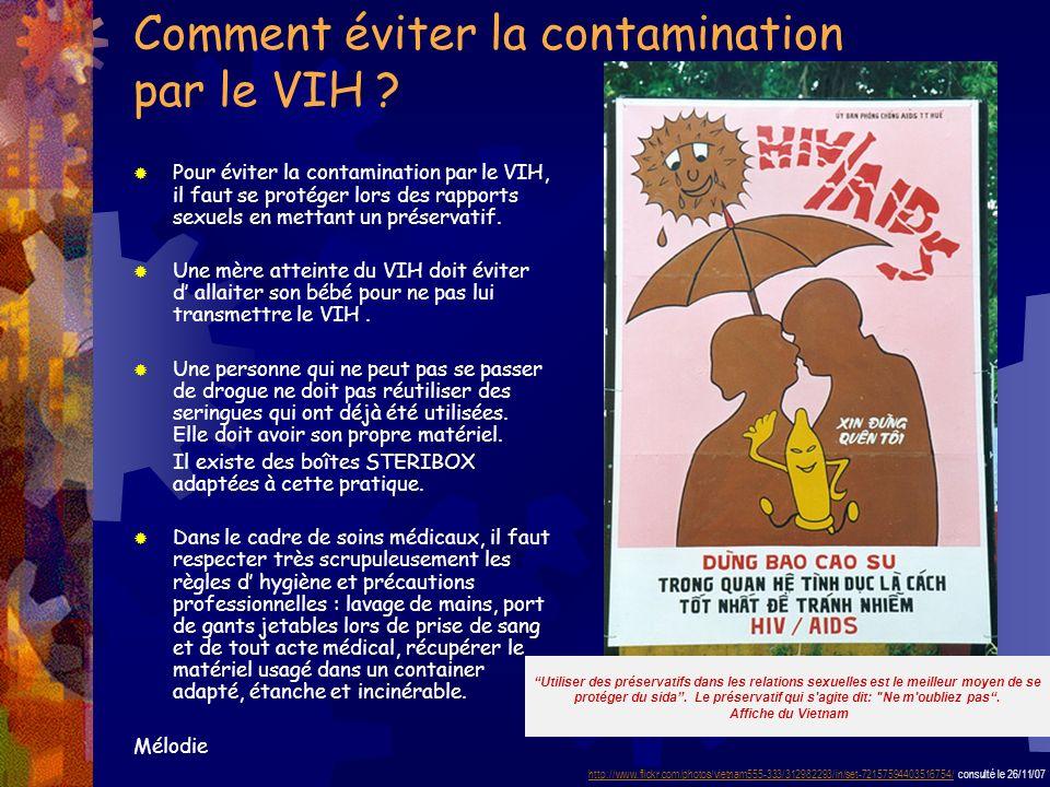 Comment éviter la contamination par le VIH