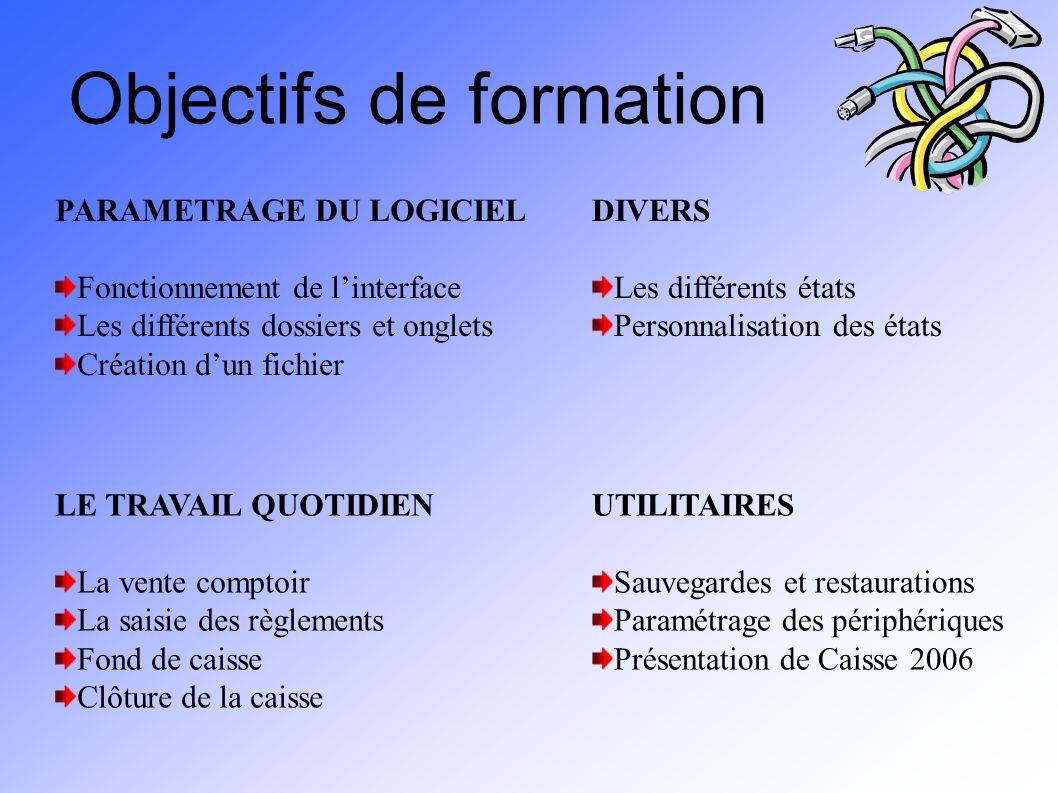 Objectifs de formation